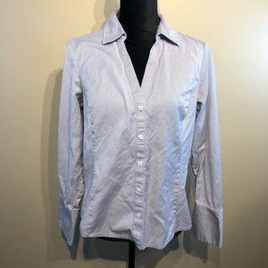 Ann Taylor Button Down Blouse Size 10